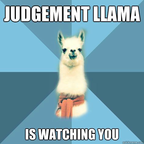 judgement-llama