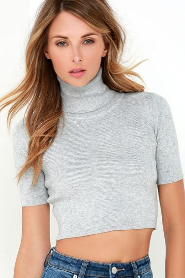 turtleneck crop